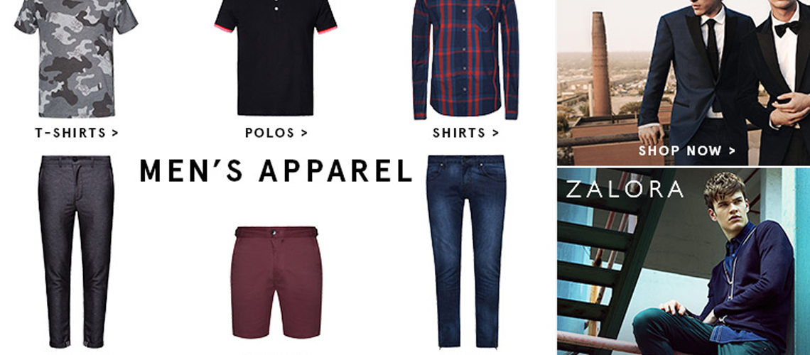 ZALORA – Men's T-Shirts & BIG SALE (Online Fever)