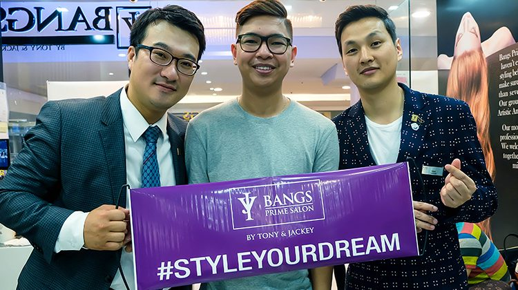 #styleyourdream: BANGS Prime Salon by Tony & Jackey (SM MEGAMALL)